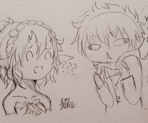 doodle, sketch, and aonoexorcist image