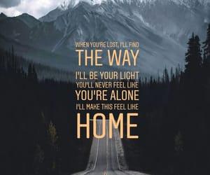 home, light, and Lyrics image