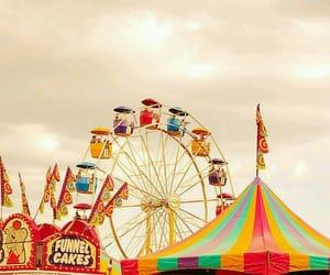 colorful, ferris wheel, and fun image