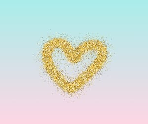heart, pastel color, and girly wallpaper image