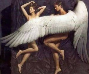 angel, wings, and erotic image