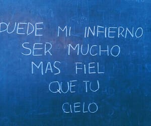 hell, frases, and cielo image