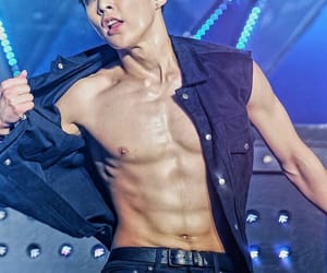 xiumin, exo, and abs image