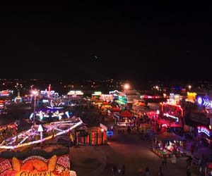 fair, july, and lights image