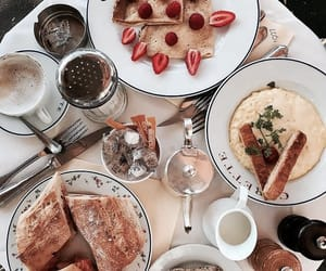 food, delicious, and breakfast image