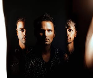 matthew bellamy, muse, and music image