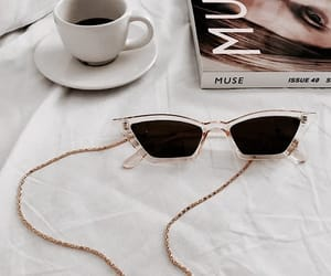 coffee, fashion, and magazine image