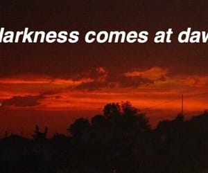 dawn, grunge, and Lyrics image