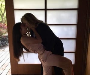 femme, kissing, and gay image
