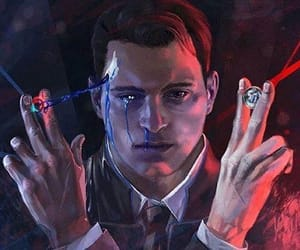 Connor, detroit become human, and connor rk800 image