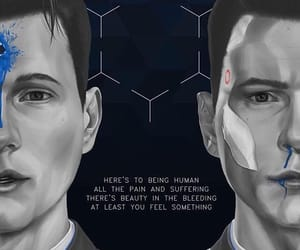 Connor, detroit become human, and dbh connor image