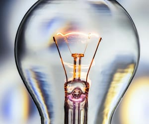 bulb, light, and electricity image