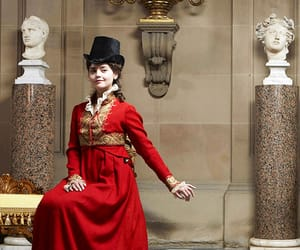 jenna coleman, death comes to pemberley, and lydia wickham image