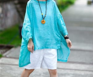 etsy, oversize shirt, and linen top image