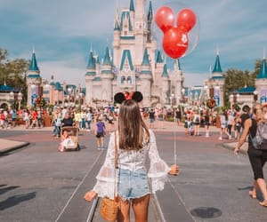travel, disney, and girl image