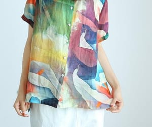 etsy, women shirt, and linen top image