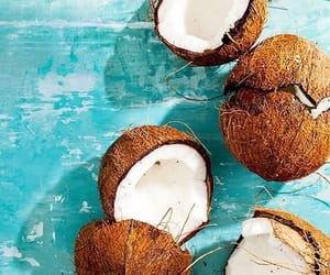 coco, fresh, and coconuts image