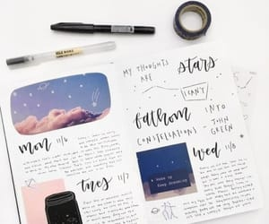 aesthetic, calligraphy, and diy image