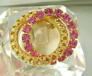 costume jewellery, etsy, and gold plated image