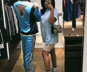 shoes sneakers, boyfriend girlfriend, and outfit clothes image