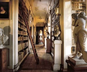 books, library, and art image