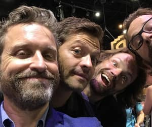 misha collins, rob benedict, and actor image