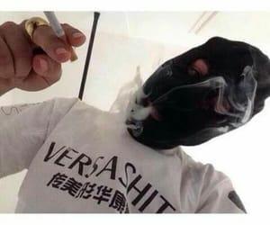smoking, smok, and Versace image
