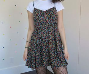 dress, outfit, and grunge image