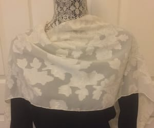 eco friendly, vintage scarf, and gift for her image