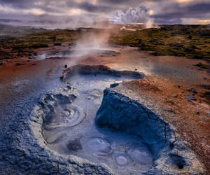 boil, colors, and iceland image
