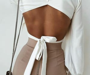 blusa, Nude, and white image