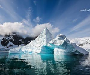 adventure, landscape, and antarctica image