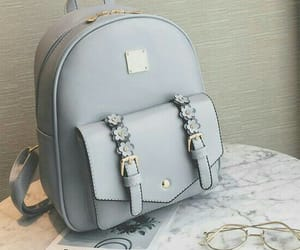 bags, grey, and mini bags image