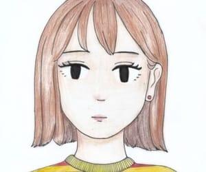 anime, cartoon, and ink image