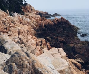 aesthetic, Maine, and rocks image