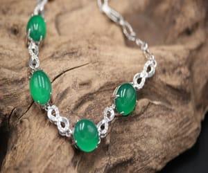 charm bracelet, wedding, and chalcedony jewelry image