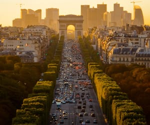 champs elysees, travelling, and parís image