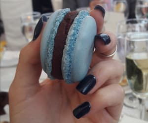 blue, wedding, and hand image