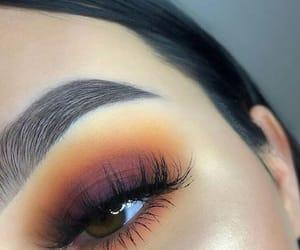 blending, eye makeup, and eyebrows image
