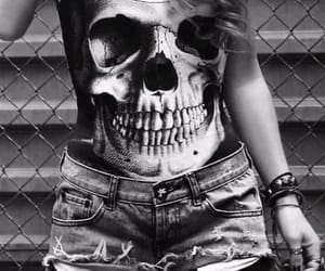 black and white, grunge, and style image