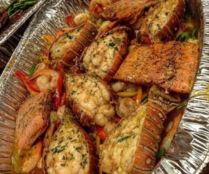 food, delicious, and dinner image