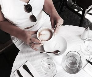 fashion, coffee, and cafe image