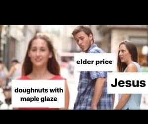 broadway, donut, and jesus image