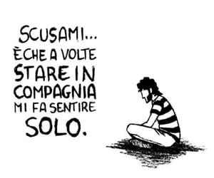 frasi, malinconia, and italiane image