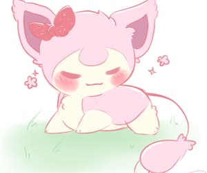 art, pink, and pokemon image