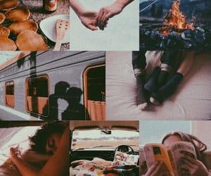 aesthetic, couple, and teenage love image
