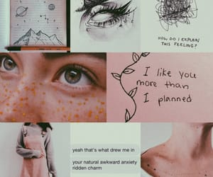 aesthetic, anxiety, and awkward image