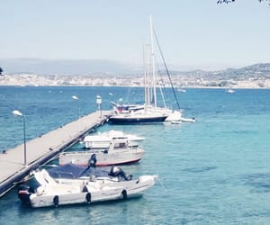 boat, cannes, and French Riviera image