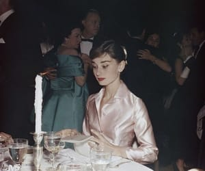 1950s, hepburn, and aesthetic image