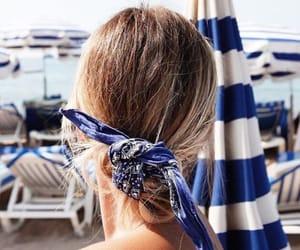 beach, elegance, and summer image